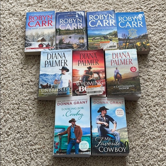 Book Bundle Robyn Carr, Donna Grant, Diana Palmer